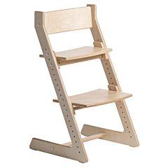 Растущий стул Кенгуру Light без лакокрасочного покрытия