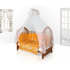 Комплект постельного белья Eco Line Fabric Забавные Зверята для колыбели (6 предметов) микс 2