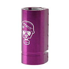 Хомут для руля Grit SCS c 5-ю болтами (фиолетовый)