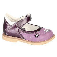 Туфли ортопедические Twiki с закрытым носком (фиолетовые, 21-25)