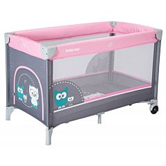 Манеж-кровать BabyMix Sowa Pink