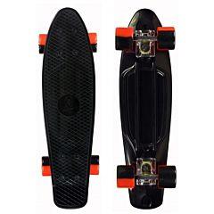 """Мини-круизер Fish Skateboards 22"""" (черный/красный)"""