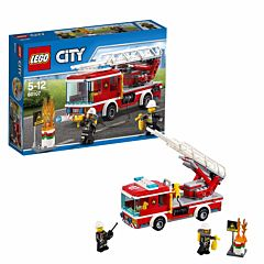 Конструктор Lego City 60107 Город Пожарный автомобиль с лестницей