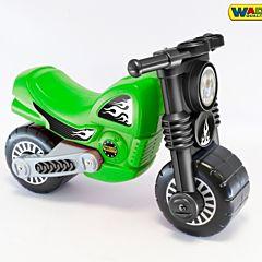 Мотоцикл-каталка Wader Моторбайк (Зеленый)
