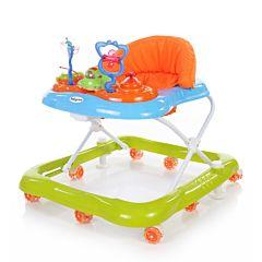 Ходунки Baby Care Mario (Синий/Зеленый)