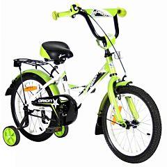 "Детский велосипед Velolider Orion 16"" Белый/Зеленый"