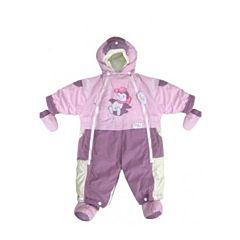 Комбинезон-трансформер Little People на меху Малыш (розовый)
