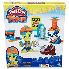 Игровой набор Play-Doh Город Житель и питомец №2