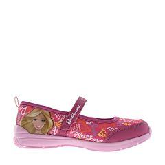 Туфли детские Barbie 5858B для девочек (фуксия)