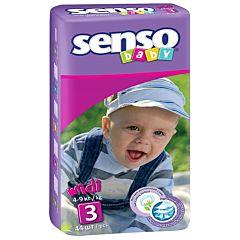 Подгузники Senso Baby Midi (4-9 кг) 44 шт