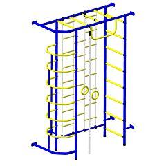 Детский спортивный комплекс Пионер 9Л (сине-желтый)