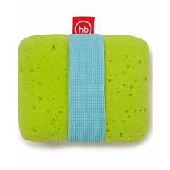 Мочалка Happy Baby Sponge+ с эластичным фиксатором на руку (Зеленый)