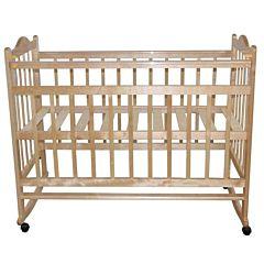 Кроватка детская Briciola 1 (качалка-колесо) (светлая)