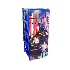 Детский комод IDEA (М-Пластика) Герои (Звёздные войны)