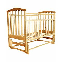 Кроватка детская Агат Золушка-3 (поперечный маятник) (Светлый)