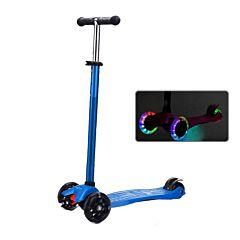 Самокат Ecoline Riley со светящимися колесами (синий)