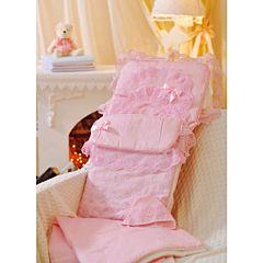 Комплект на выписку летний Арго Нежный 8 пр. (розовый)