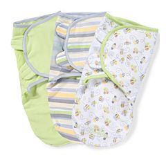Конверт Summer Infant SwaddleMe Пчелки S/M (3 шт.)