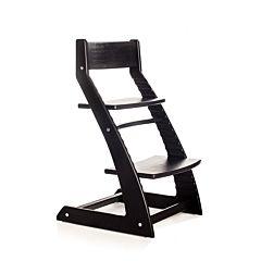 Растущий стул Kotokota с лакокрасочным покрытием (черный)