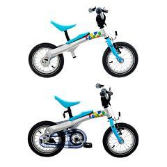 """Беговел-велосипед (2 в 1) Rennrad 12"""" (синий)"""
