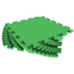 Мягкий пол Экополимеры 33*33 (зеленый)
