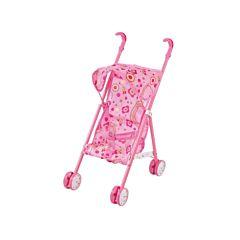 Коляска для куклы Fei Li Toys трость (розовая) FL737