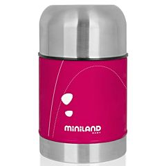 Термос для детского питания Miniland Soft Thermo Food (Розовый)