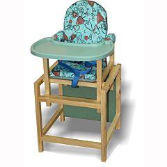 Стул-стол для кормления Вилт СТД 07 Пластиковая столешница (бирюзовый)