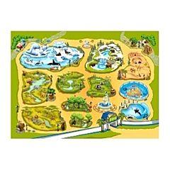 Развивающий коврик Teplokid 180х130 см (зоопарк)