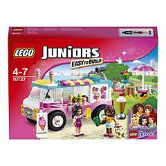 Конструктор Lego Juniors 10727 Грузовик с мороженым Эммы