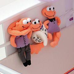 Комплект игрушек для детской кроватки Papaloni Шутки Игуан