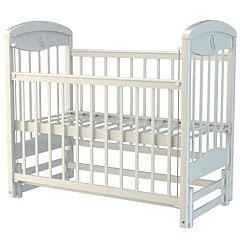 Кроватка детская Briciola 2 с продольным маятником (белая)