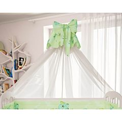 Балдахин к кроватке Polini Мишки (Зелёный)