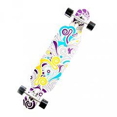 """Лонгборд Fish Skateboards 41"""" (разноцветный)"""