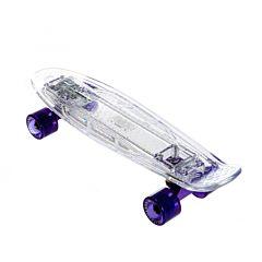 """Мини-круизер Fish Skateboards 22"""" со светящейся платформой"""