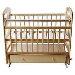 Кроватка детская Briciola 11 с поперечным маятником (светлая)