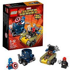 Конструктор Lego Super Heroes 76065 Супер Герои Капитан Америка против Красного Черепа