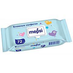 Влажные салфетки для детей Mepsi 72 шт.