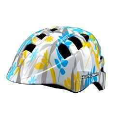 Шлем Runbike Action Pro M (бело-голубой)
