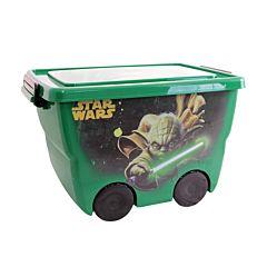 Корзина для игрушек IDEA (М-Пластика) Звёздные войны (Зелёный)