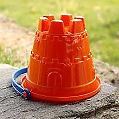 Пляжное ведёрко Gowi Крепость (Оранжевый)