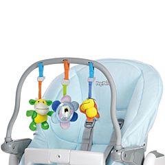 Комплект для стульчика Peg-Perego Tatamia и Prima Papa Newborn (голубой)