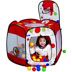 Детская палатка Calida с шарами Многоугольник