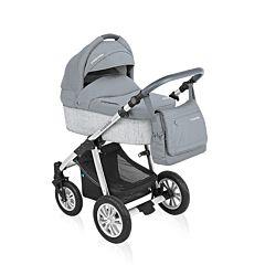 Коляска 2 в 1 Baby Design Dotty Eco (серый)