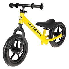 Беговел EcoBalance Race с заниженной рамой (желтый)