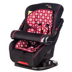 Автокресло Liko Baby LB-301 B (черный/бордовый)