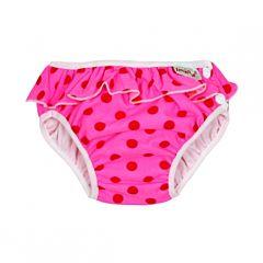 Подгузники-трусики для купания ImseVimse Pink Dots Frill