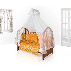 Комплект постельного белья Eco Line Fabric Забавные Зверята для колыбели (6 предметов) микс 1