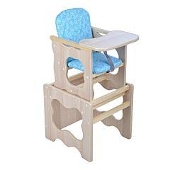 Стул-стол для кормления Мега Дом Фунтик (голубой)