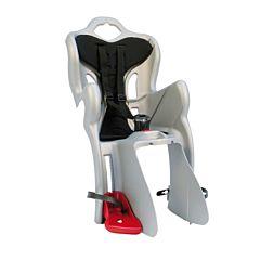 Велокресло на багажник Bellelli B-One Clamp до 22 кг (серебристое)
